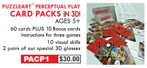 Perceptual Play Card Packs