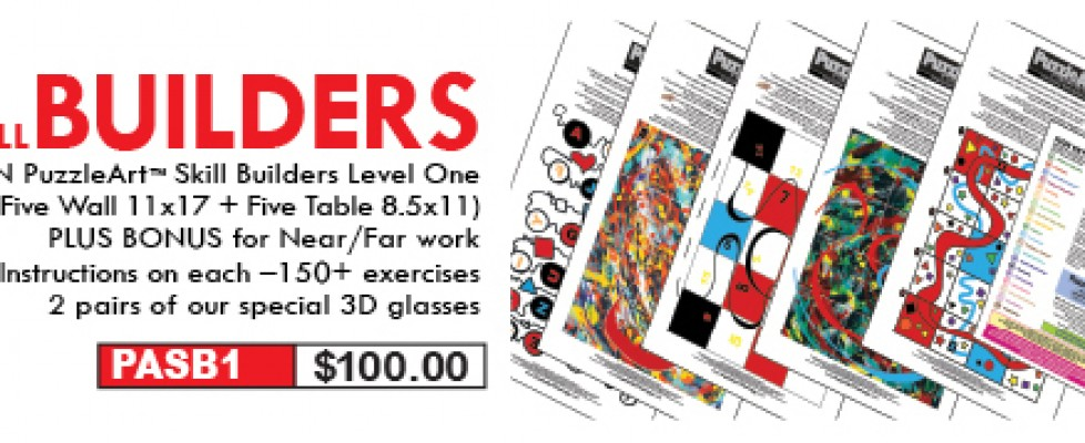 PuzzleArt Therapy Training Tools: Improve Your Brain Fitness!