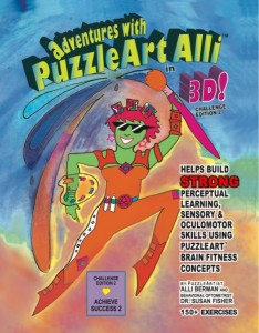 PAABC2 - PuzzleArt Alli Activity Book Challenge Edition 2