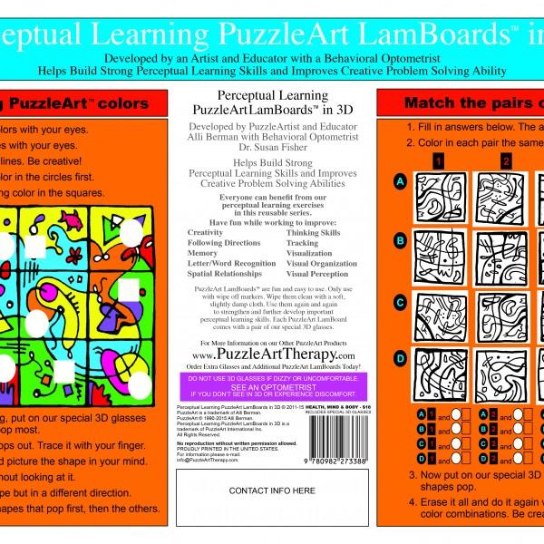 PALB1 - Perceptual Learning Lamboards in 3D Back