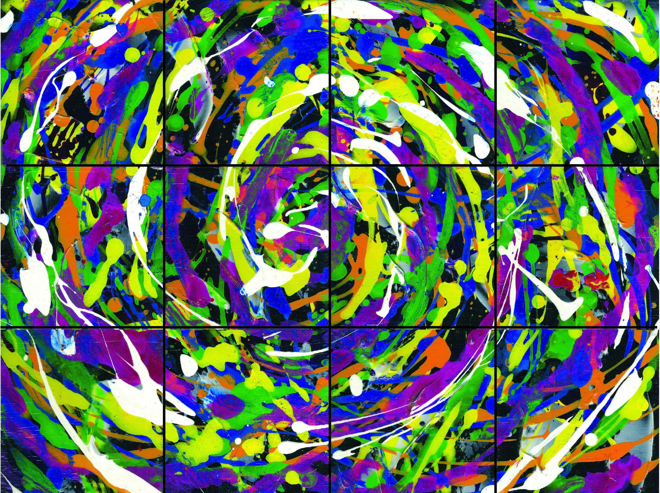 PAWW07 - WallWorks Yellow Swirl with Black 300dpi 2015