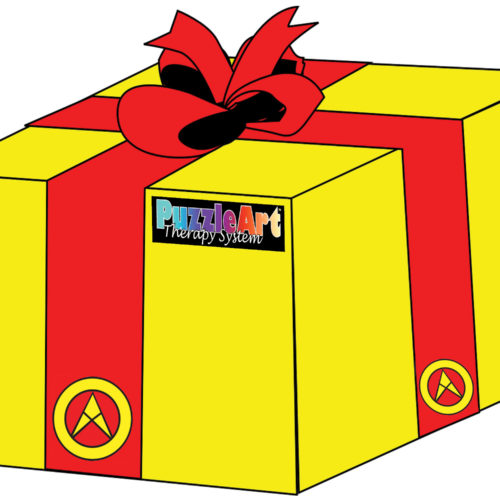 PAT GIFT BOX with red bow