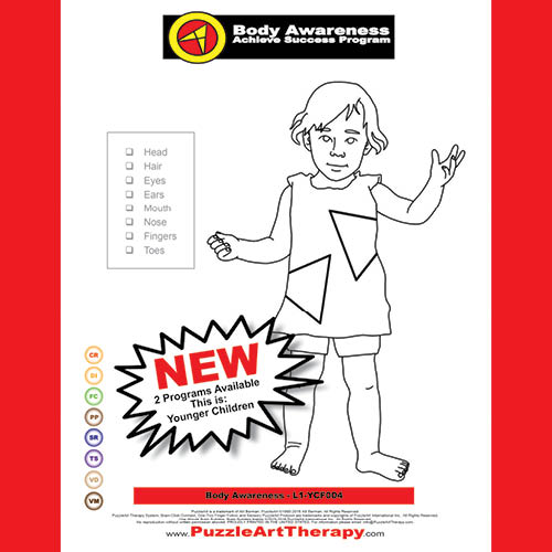 Body Awareness - Younger Children - WITH RED