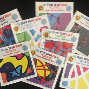 FLOW CARDS - Guided Imagery and visualization tools - seires of 8 categories of self-help