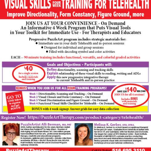 Visual Skills Training 4 WEEK ON DEMAND 2020