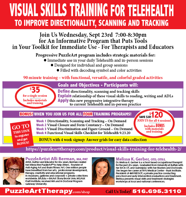 Visual Skills Training for Telehealth