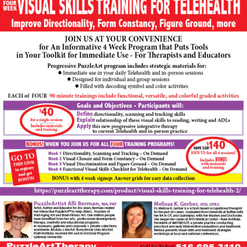 Visual Skills Training 4 WEEK ON DEMAND 2020